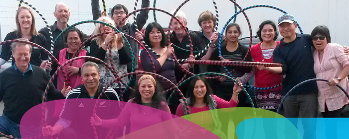workplace fun and fitness programmes In 2 hula christchurch