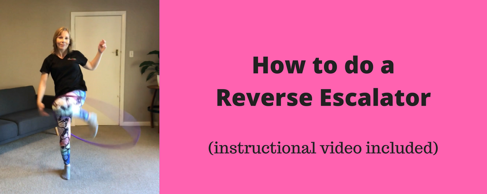 reverse escalator hoop trick